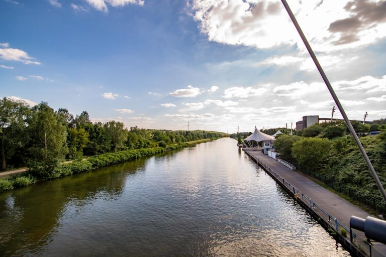 Alle am Kanal: Nordsternpark in Gelsenkirchen