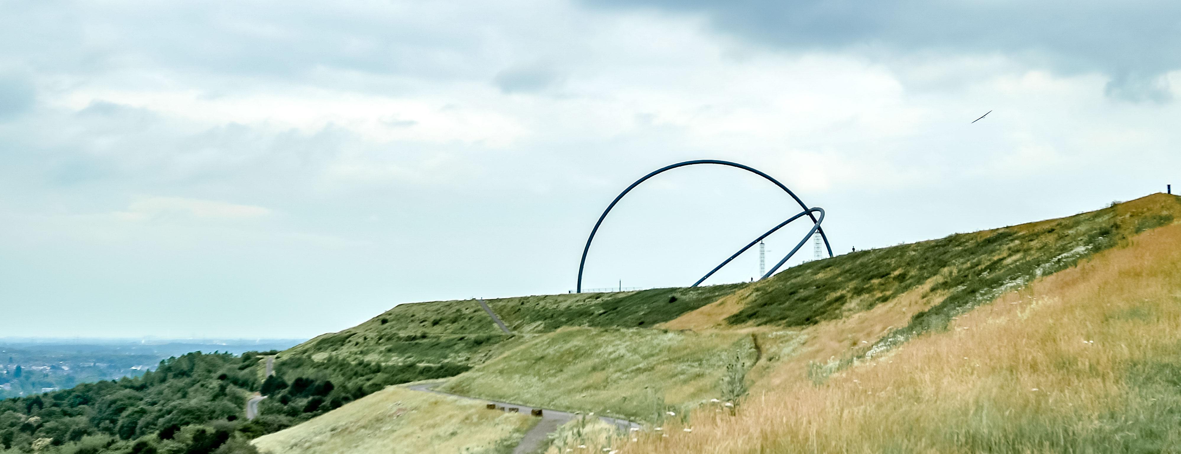Pottleben - Horizontobservatorium auf der Halde Hoheward