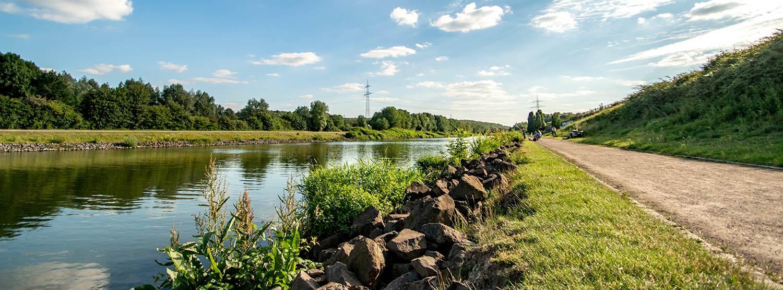 Pottleben - Nordsternpark am Rhein-Herne-Kanal