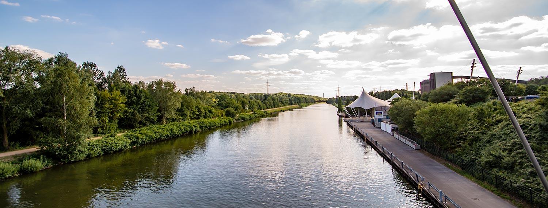 Pottleben - Nordsternpark in Gelsenkirchen am Rhein-Herne-Kanal