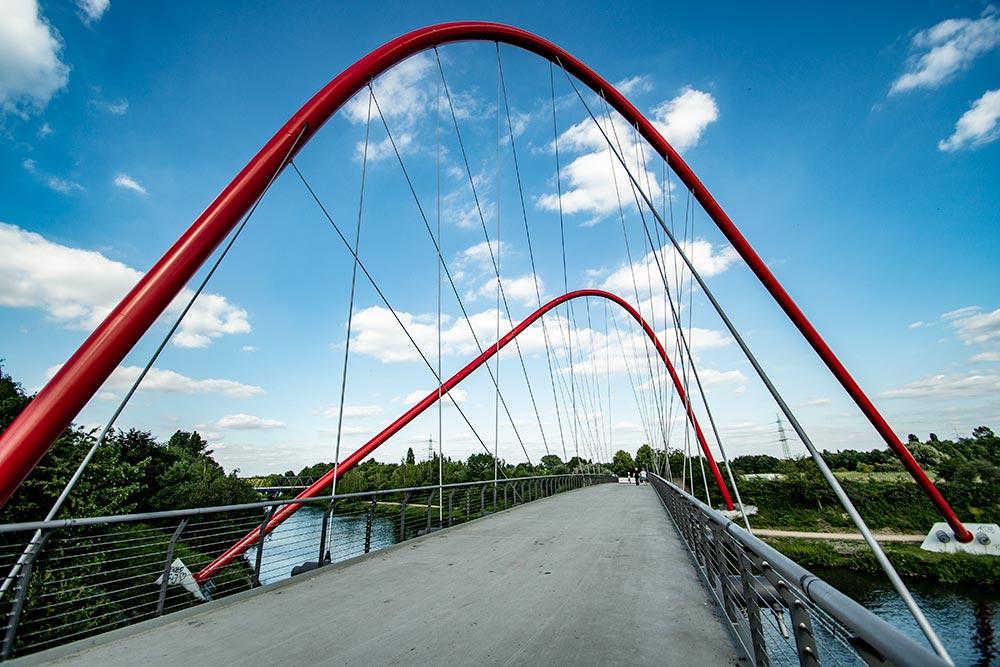 Pottleben - Brücke im Nordsternpark