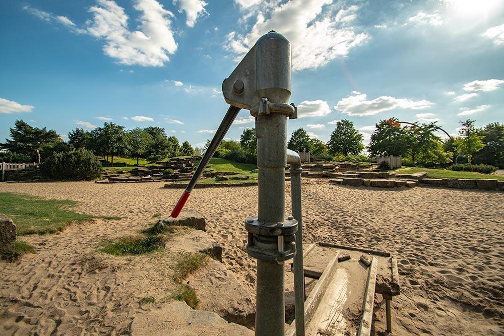 Pottleben - Wasserspielplatz im Nordsternpark