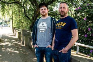 """Pottleben.de - Constantin und Michael sind die Macher des Streetwear-Labels """"Ruhrverliebt""""."""
